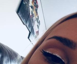 blonde, eyes, and girl image