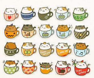 cartoon, cat, and cats image