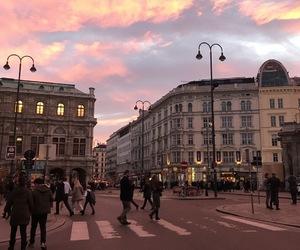 ciel, coucher de soleil, and decembre image
