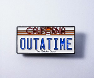 Back to the Future, california, and out of time image