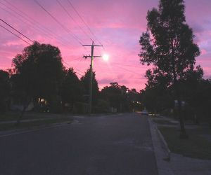pink, purple, and shadow image