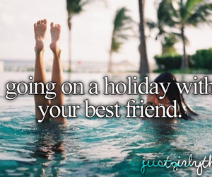 holiday, best friends, and summer image