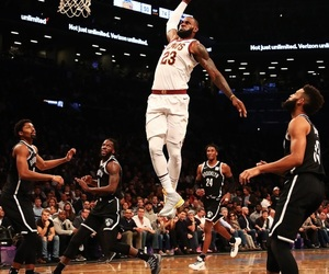 Basketball, LeBron James, and brooklyn nets image