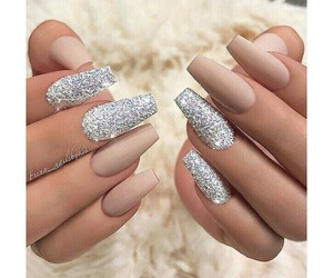 nail art, nails, and sparkle image