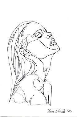art, drawing, and woman image