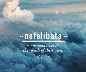 clouds, definition, and nefelibata image