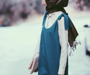 hijab, moda, and we heart it image