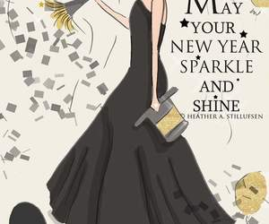 sparkle, new year, and shine image