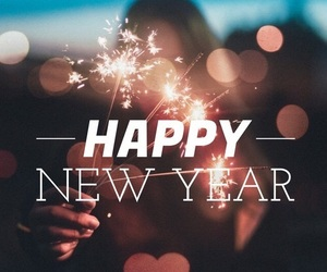 2018, happy new year, and new year image