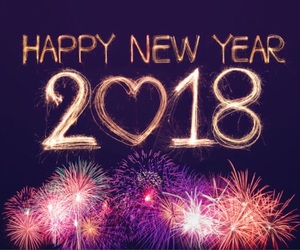 2018 and new year image