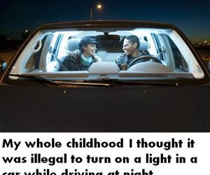 driving, funny, and growing up image