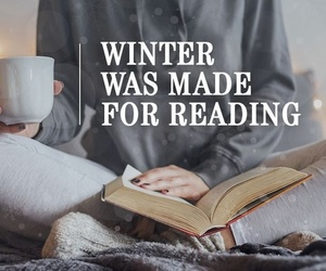 books and winter image