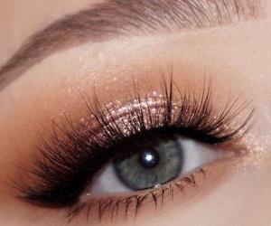 eye, goals, and makeup image