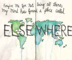 elsewhere, quote, and world image
