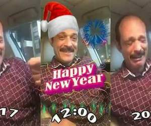 funny, happy new year, and holiday image