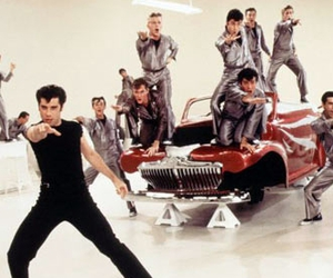 grease, grease lightning, and vintage image