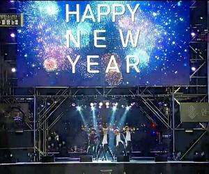 happy new year, bts, and bangtan image