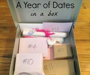 gift, box, and diy image
