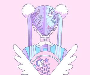 pink, kawaii, and pastel image