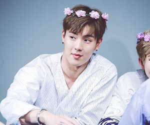 kpop, shownu, and son hyunwoo image