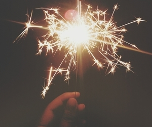 light, fireworks, and indie image