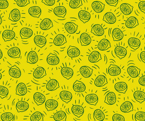 background, pattern, and yellow image