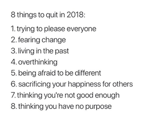 new year, quote, and 2018 image