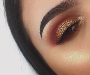 bronze, eyeshadow, and girl image