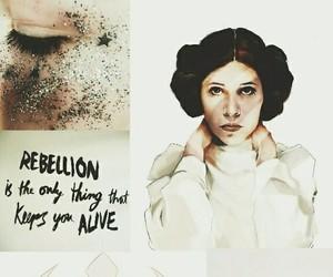 aesthetic, Princess Leia, and wallpaper image