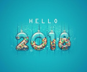 happy, love, and new year image