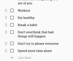 new years, resolution, and to do list image