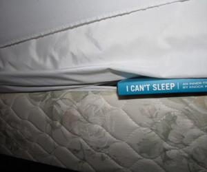 sleep, blue, and book image