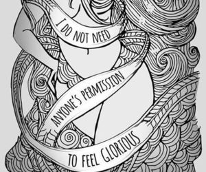 feminism, glorious, and quotes image