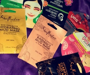 face, masks, and moisture image