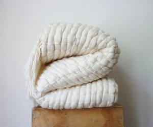 etsy, large throw blanket, and chunky knit blanket image