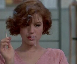 The Breakfast Club, Molly Ringwald, and 80s image