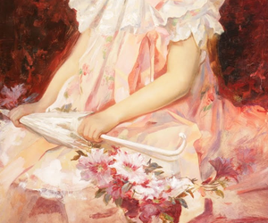 anime, pink, and beautiful image