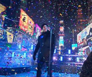 happy new year, rockin eve, and nick jonas image