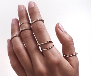 accessories, fashion, and fingers image