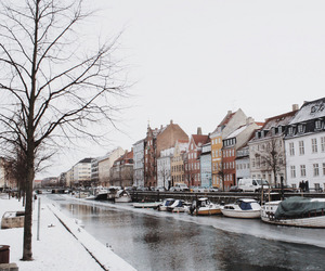 travel, vintage, and winter image