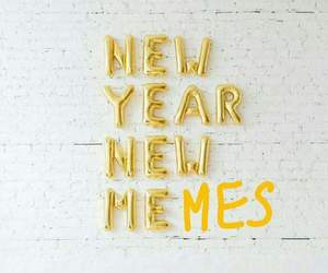 meme, funny, and new year image