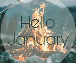 hello, january, and new image