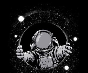 space, astronaut, and stars image