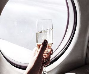 champagne, travel, and luxury image