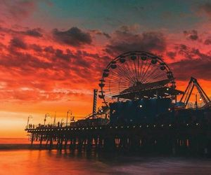 amazing, sun set, and amusement image