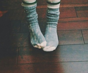 socks, vintage, and indie image