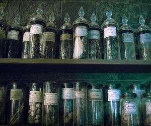 harry potter, potion, and slytherin image