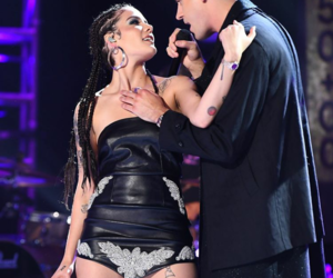 music, halsey, and g-eazy image
