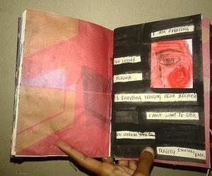 art, illustration, and journal image