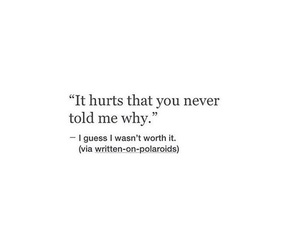 heartbroken, hurt, and quotes image
